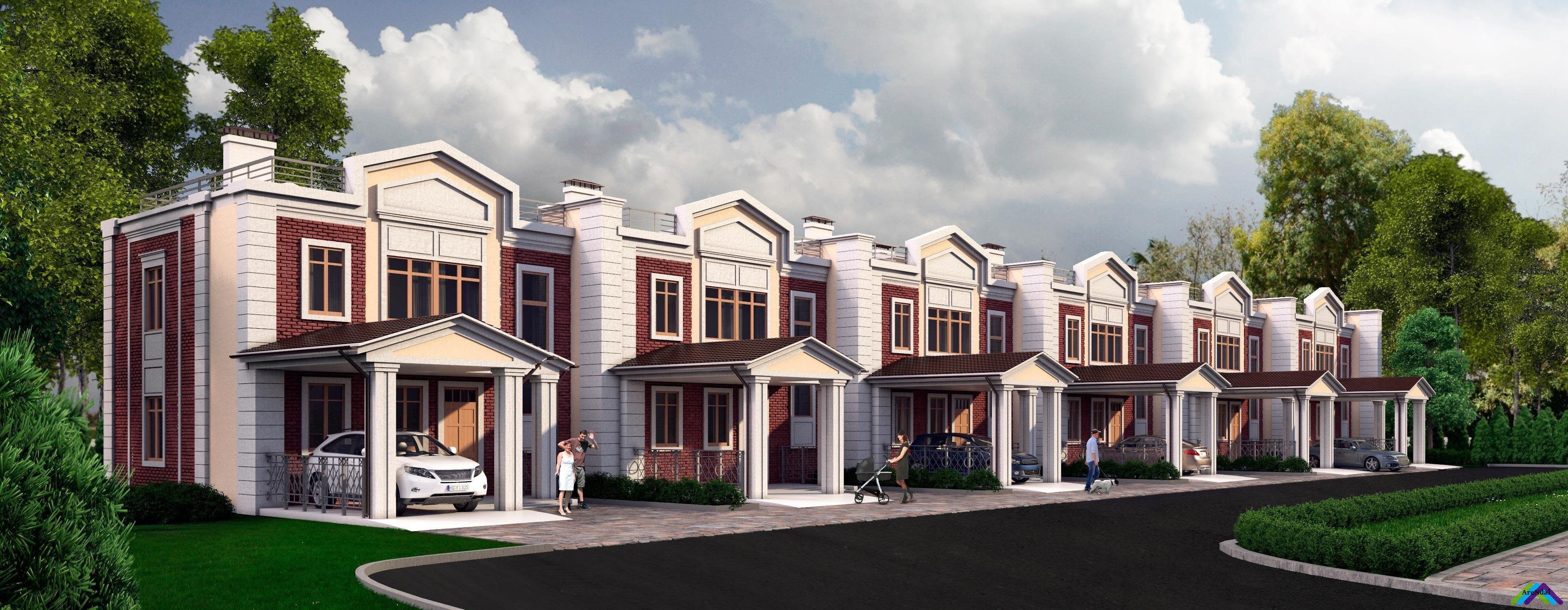 Таунхаусы в Твери: строительство, продажа (купить)